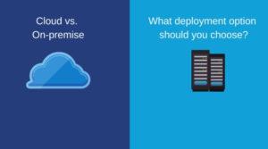 Cloud vs On-premise SAP Business One